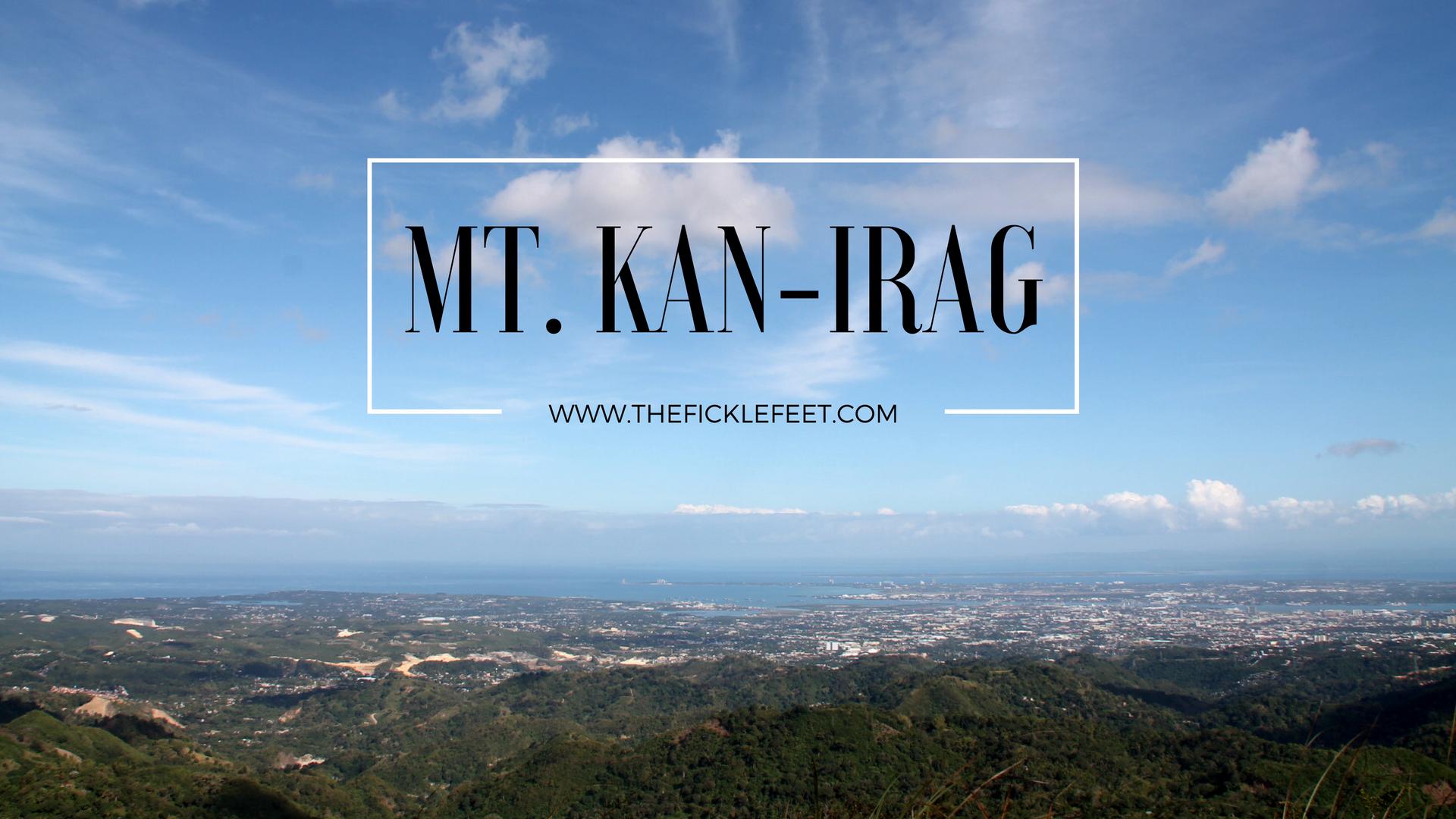 Mt. Kan-irag, Cebu, Philippines
